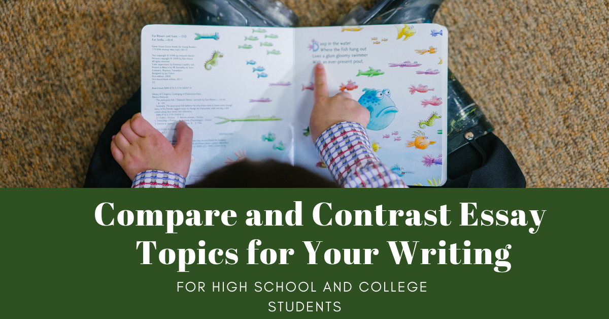 compare and contrast topics